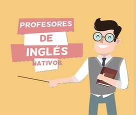 Busco profesores de ingles nativo