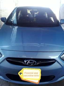 Se vende auto Hyundai accent, modelo 2012 a 8,300 dólares , precio conversable