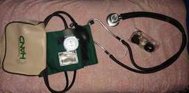 Tensiometro con estetoscopio doble campana