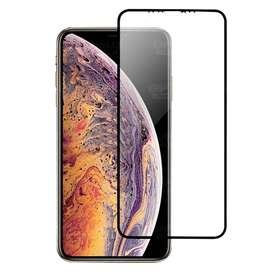 Vidrio Cristal Templado Protector De Pantalla Cerámico Matte Glass celular smartphone iPhone X Antihuella flexible