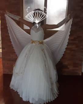vendo  vestido para primera comunion