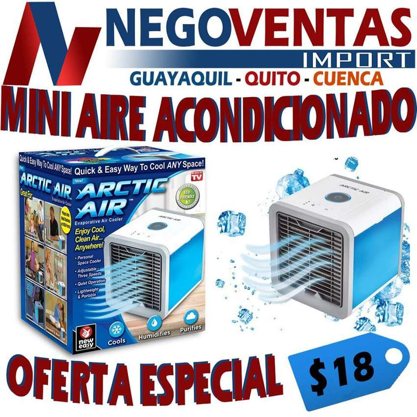 MINI AIRE ACOMDICIONADO AIR PORTATIL 0