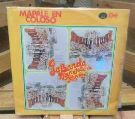 Long Play Lp Dísco Acetato Pasta Vinyl La Banda San José De Tolu Viejo Mapalé En Coloso