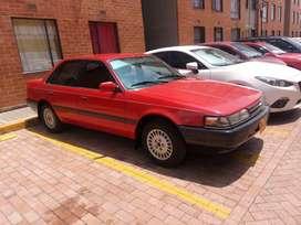 Mazda 626L modelo 1993, en muy buen estado, gasolina, papeles al día listo para el traspaso, sin partes