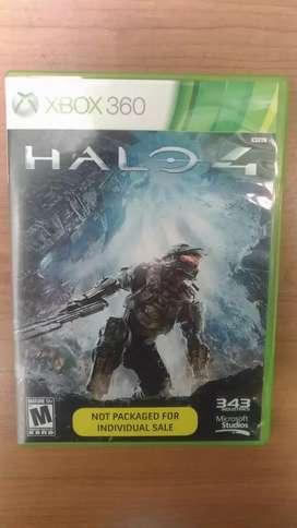 Halo 4 video juego original 2 CD