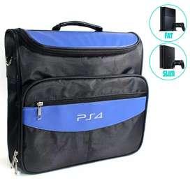 Mochila Para Ps4 Fat y Slim - Funda Transporte Sony PlayStation 4 Fat y Slim