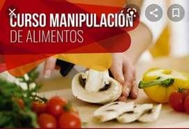Cursos manipulación de alimentos