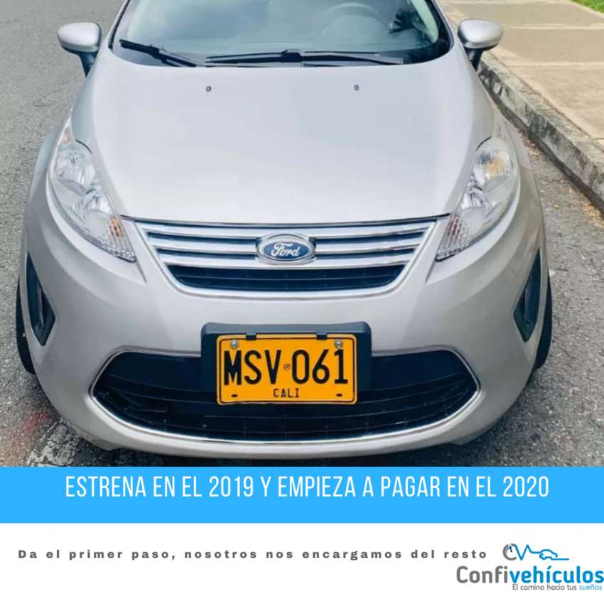 Ford Fiesta SE AT 2012  ¡Págalo Fácil en Cuotas Bajas y Con Respaldo! 0