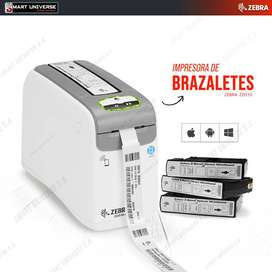 Impresora De Brazaletes Zebra Zd510-hc Térmica Usb Red Nuevo