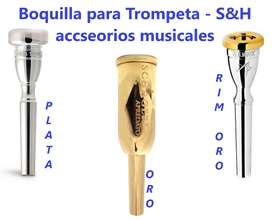 Boquilla para trompeta