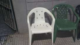 Sillon Apilable Mascardi Blanco