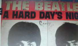 Disco Vinilo Original Usa 1964 The Beatles A Hard Days Night Long Play