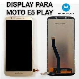 Display moto e5 play