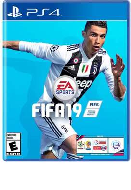 FIFA 19 PS4 EN BUEN ESTADO. Con domicilio