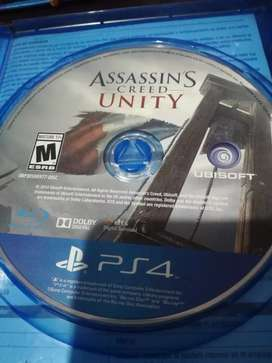 Juego play 4 Assassin's Creed Unity
