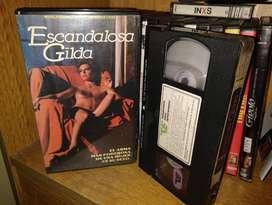 Escandalosa Gilda (Scandalosa Gilda) - VHS 1985 - Monica Guerritore