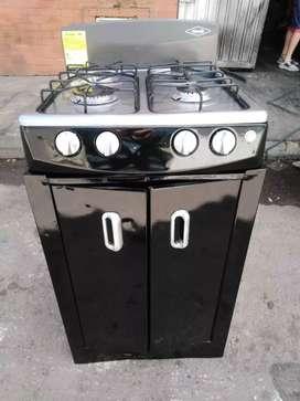Vendo estufa con alacena marca haceb