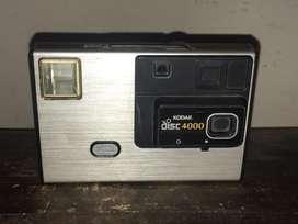 Camara antigua de fotografia kodak disc