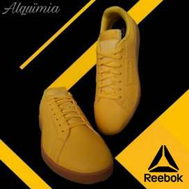 Promo Reebok: Tenis Royal Rally Amarillo.