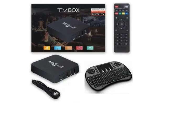 Tv Box Mxq Pro 4k 2gb Ram-16gb + Teclado Inalambrico CC Monterrey local S5 sótano