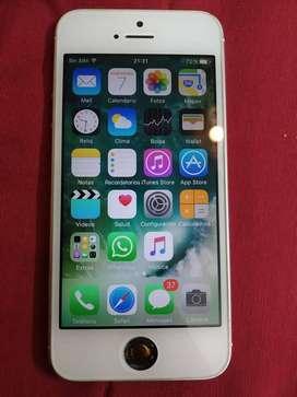 Apple iPhone 5 Blanco 16gb Libre De Icloud, Desbloqueado