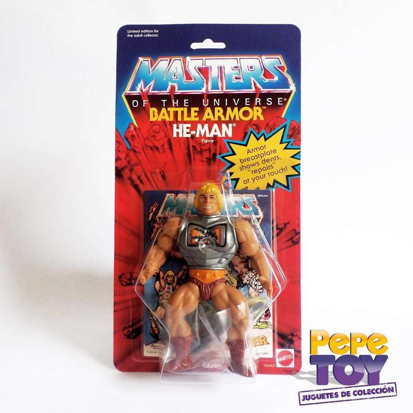 Masters of the Universe He Man Battle Armor 0
