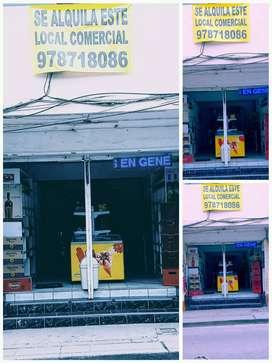 Alquiler de local Comercial a una cuadra del Centro- Cajmarca