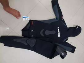Wetsuit cressi 7 mm talla L