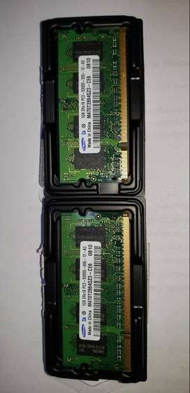 Memoria para Notebook Samsung 1GB DDR2 667MHz