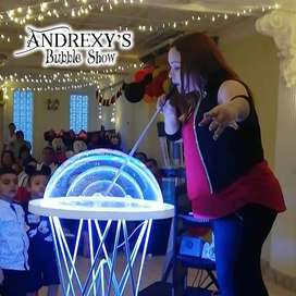 ANDREXY'S BUBBLE SHOW. Espectáculo de Burbujas en Cali. Show. Magia. Colombia. Magos.