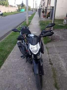 Moto akt cr4 125 modelo 2020