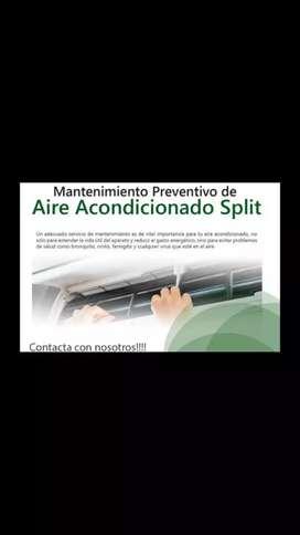 Split y Aires de Ventana, Instalación y Servicios