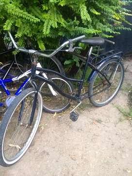 Bicicleta de mujer  andando hay que darle una pintadita