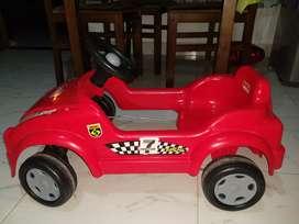 Carro de pedales