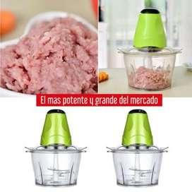 Picador eléctrico multifuncional de verduras y carnes