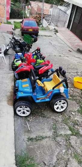 Vendo negocio carros a bateria para niños