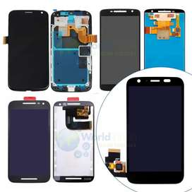 Display Lcd Touch Completo Motorola Moto G2 Xt1063 Xt1068