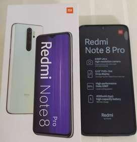 Redmi note 8 pro. Nuevo, 6 de ram y 128 de almacenamiento,.