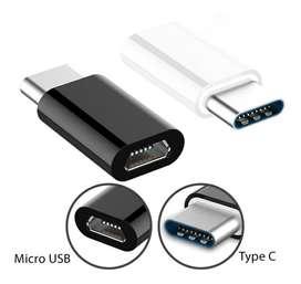 ADAPTADOR MICRO USB A FICHA TIPO C