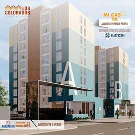 Apartamentos con subsidio, ubicados en el sector Villa Camila
