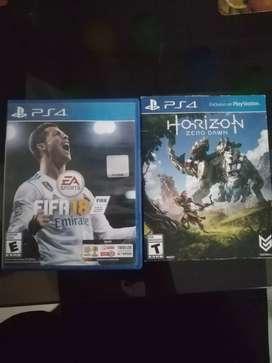 FIFA 18 y horizon.