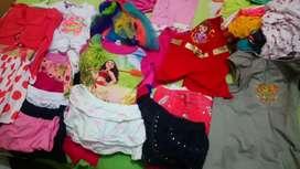 Remato ropa de niñas medio uso desde 0 a 6 años