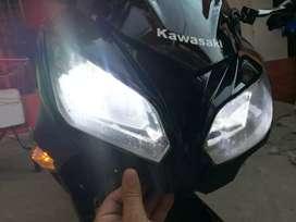 Vendo hermosa Kawasaki 300 o permuto