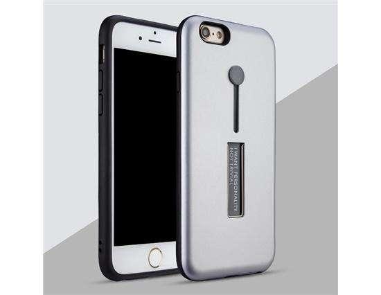Híbrido Funda Anti Choque Soporte Pc Tpu Iphone 7, 8 Gris 0