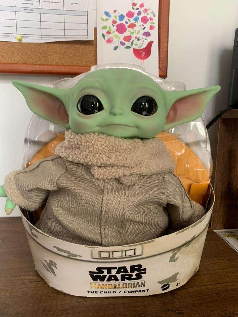 The Child Baby Yoda Star Wars Mattel Disney Store Original