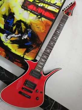 Guitarra eléctrica AXL wavepoint mayhem bloodsport agresiva e impactante jackson schecter ltd ibañez ibanez