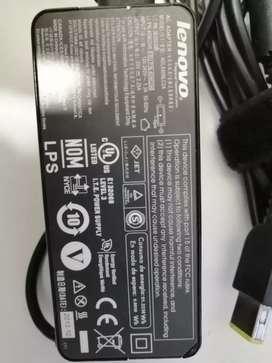 Cargador Lenovo Modelo ADLX45NLC2A Punta amarilla tipo USB. 20V~2.25 AMP.Producto original.
