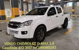 Chevrolet D-max 2.4 4X2 gasolina 2017