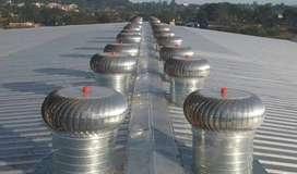 Aireador Eólico ALUMINIO / Extractor eólico ALUMINIO