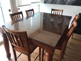 Comedor Plegable de 6 sillas